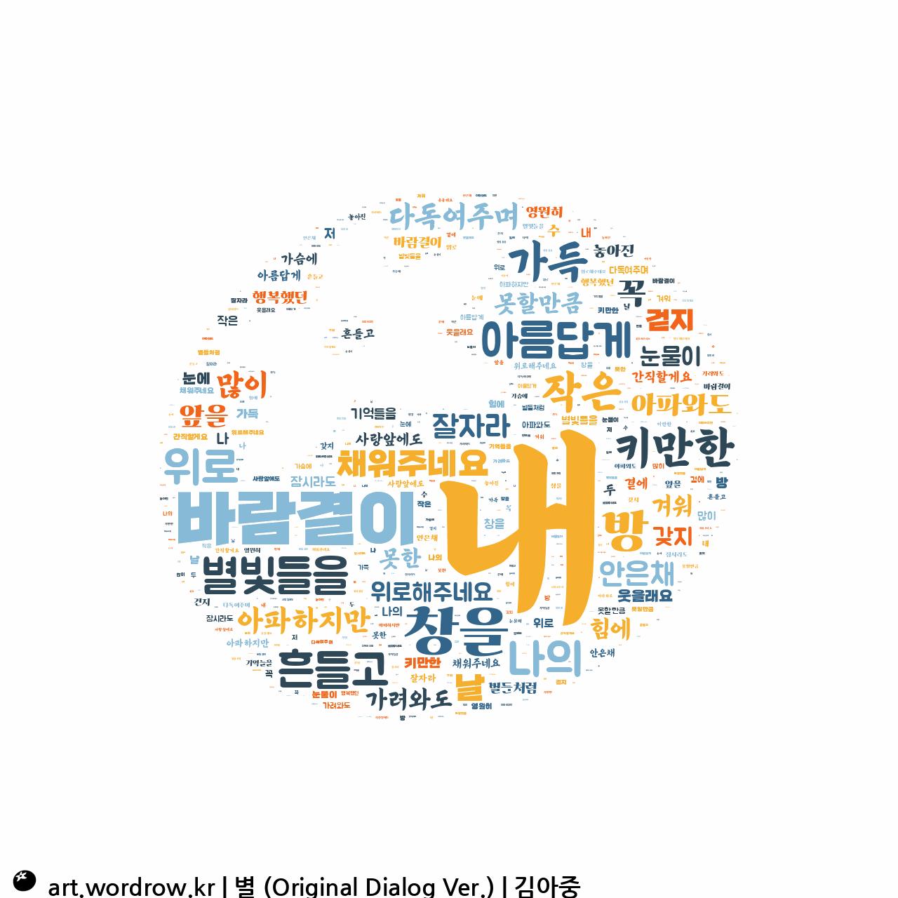 워드 아트: 별 (Original Dialog Ver.) [김아중]-27